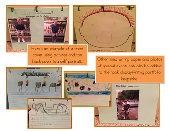 Monthly Writing Portfolio and Bulletin Board Display