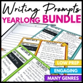 Monthly Writing Prompt and Journal Bundle - Distance Learning