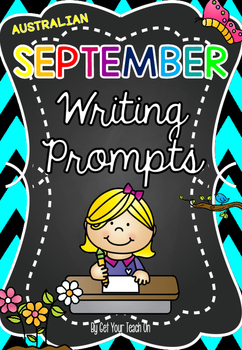 Monthly Writing Prompts ~ AUSTRALIAN SEPTEMBER