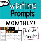 Monthly Writing Prompts - Australian Edition (+ Supporting