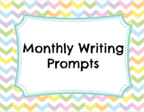 Monthly Writing Prompts Bundle