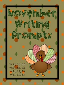 November writing prompts
