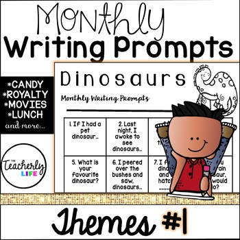 Monthly Writing Prompts - Themes Edition #1
