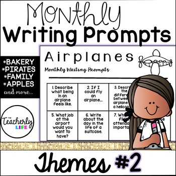 Monthly Writing Prompts - Themes Edition #2