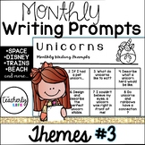 Monthly Writing Prompts - Themes Edition #3