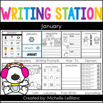 Monthly Writing Station: January