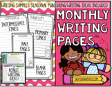 Monthly Writing Stationery and Writing Ideas