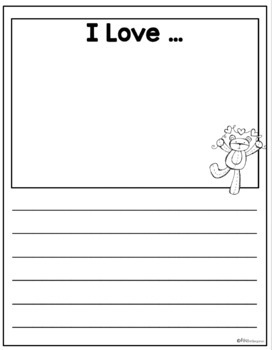Monthly Writing Templates