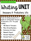 Monthly Writing Unit for Dinosaurs and Prehistoric Life -
