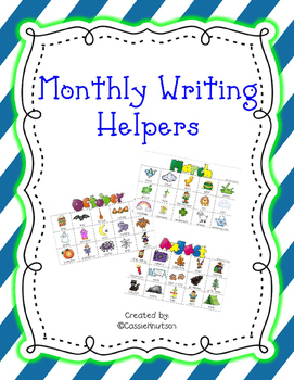 Monthly Writing Words
