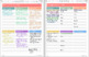 Monthly and Daily Planners for digital planning