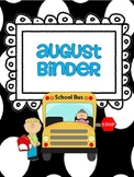 Monthly and Subject Binder Covers