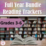 Monthly and Weekly Reading Trackers - Full Year BUNDLE