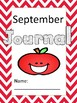 Monthly covers for journals, literature circles , or science notebook