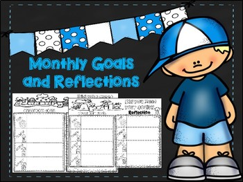 Monthly goals and reflections for the entire year