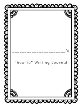 "Monthly ""how-to"" Writing Pack (August - May)"