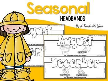 Monthly interactive headbands