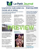 Monthly news summaries for French students: February 1st, 2020
