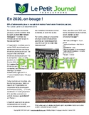 Monthly news summaries for French students: January 1st, 2020