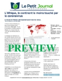 Monthly news summaries for French students: June 1st, 2020