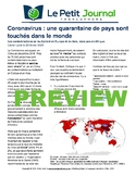 Monthly news summaries for French students: March 1st, 2020