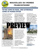 Monthly news summaries for French students: May 1st, 2019
