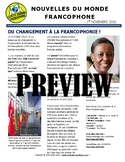 Monthly news summaries for French students: November 1st, 2018