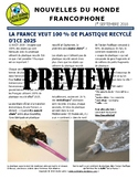 Monthly news summaries for French students: September 1st, 2018