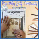 Monthly or Seasonal Self Portraits in English and Spanish!