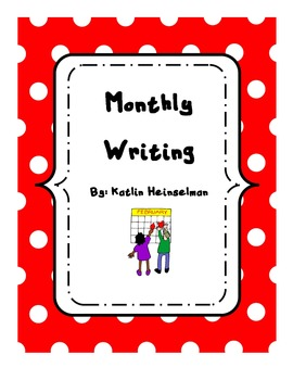 Monthly writing paper