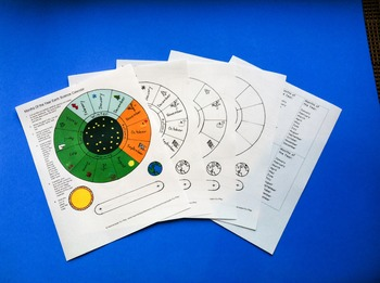Months of the Year - Earth Science Calendar Craft