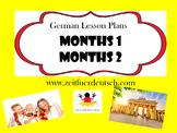 Months Bundle. German Powerpoints, Lesson Plans and Resources & Bonus Lessons