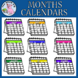Months Calendars Clipart