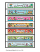 Months, Days, and Holidays activities/ file folder games f