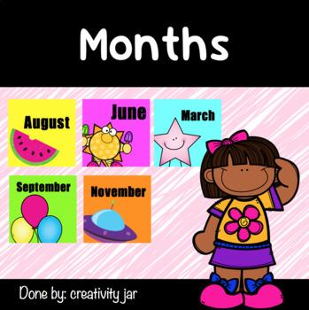"Months "" English """