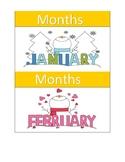Months Flashcards