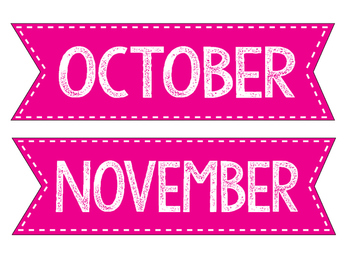 Months- Pink