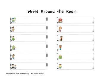 Months Write Around the Room