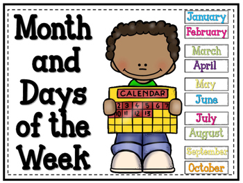 Months and Days of the Week