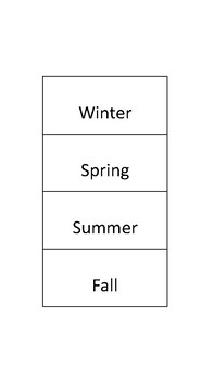 Months and Seasons Sort (Print - cut- use)