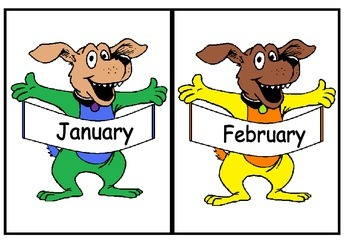 Months display