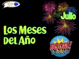"""""""Los Meses del Año"""" (Months in Spanish Boom Cards!) DISTANCE LEARNING!"""