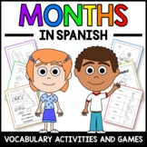 Months Activities and Games in Spanish - Los Meses