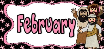 Months of The Year ~ Bible Themes (Jesus, Mary, Easter, Christmas and more!)
