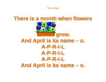 Months of The Year Songs