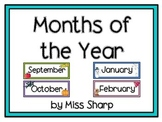 Months of the Year 2