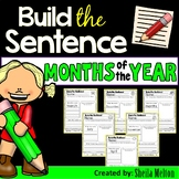Months of the Year Build the Sentence