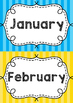 Months of the Year Posters