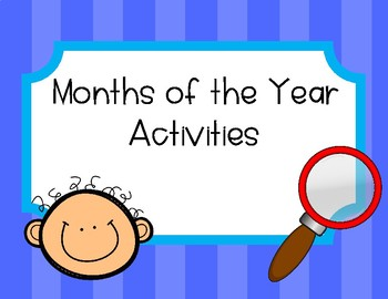 Months of the Year Activities