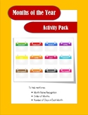Months of the Year Activity Pack